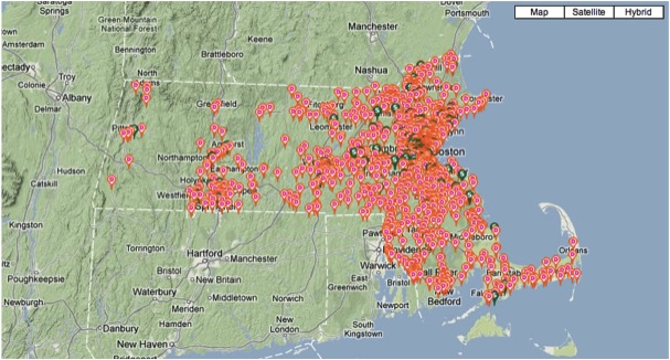 http://www.boston.com/yourtown/massfacts/snapshot_dunkin_donuts_vs_starbucks_massachusetts/