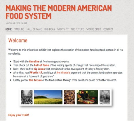 Curating an online food exhibit making the modern - Modern american cuisine ...