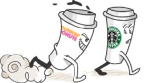Dunkin v Starbucks
