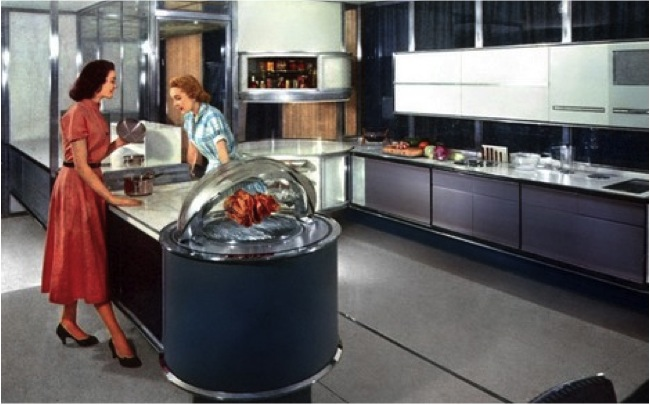 Frigidaire's Dream Kitchen of Tomorrowfeatured at the 1957 Paris Exhibition of the Future
