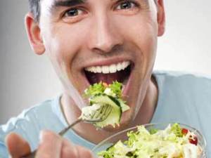 """The """"I-Am-Not-Eating-Salad Salad"""" recipe endorses masculine eating by disparaging salad, a meal generally regarded as feminine."""