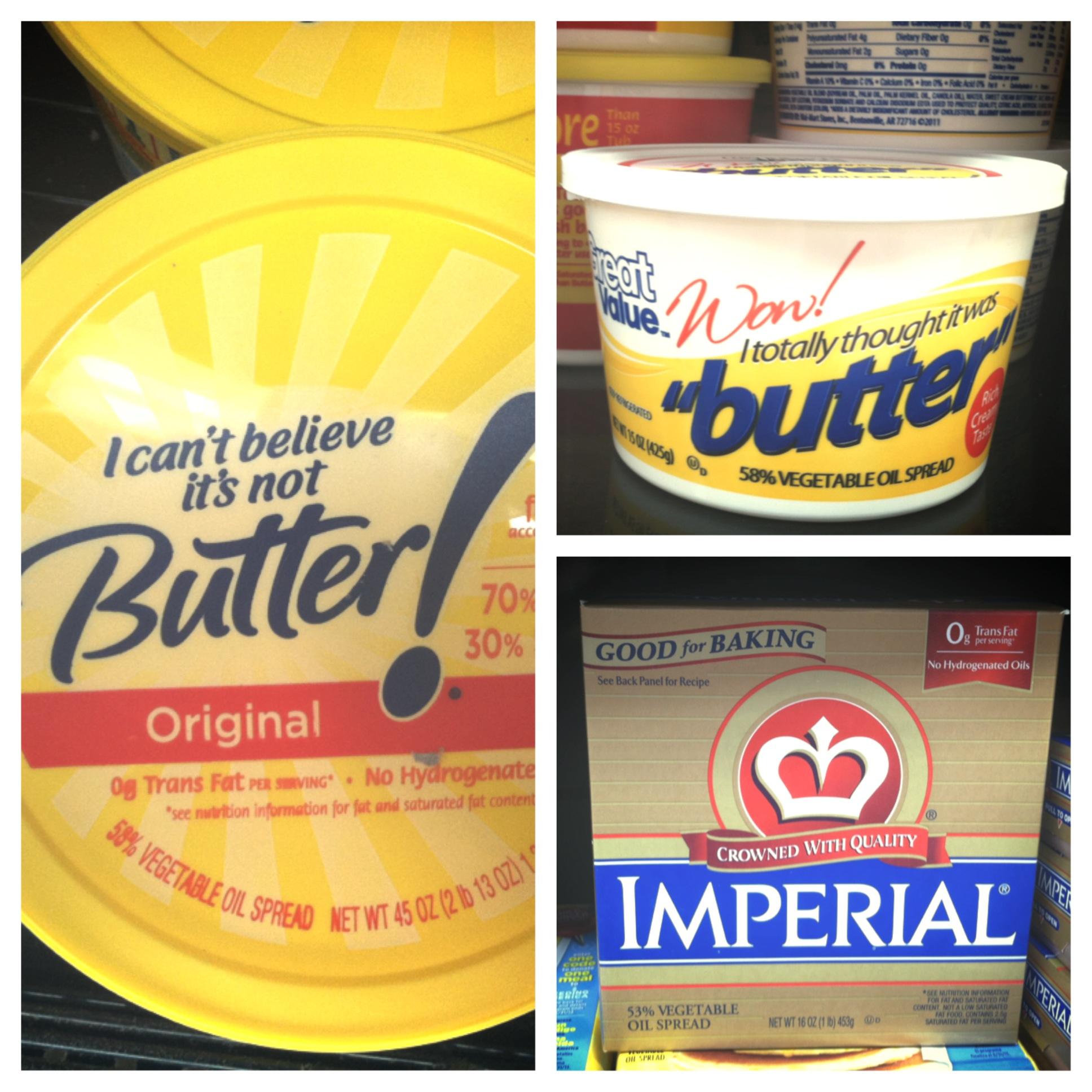 brands of butter