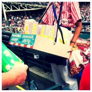 Classic baseball concessions