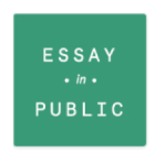 Essay in Public took place at Brown University on April 8, 2014.