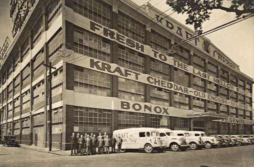 The Kraft Walker Cheese Company, Melbourne, Australia (1928-1956) Image Credit: Australian Academy of Science