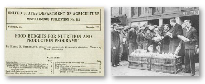 USDA head food economist, Hazel Stiebeling