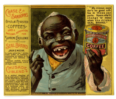 Forbes Lithograph Manufacturing Co., Boston, Chase & Sunburn Trade Card, 1888