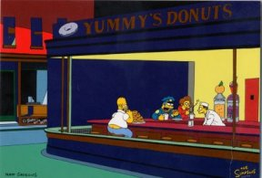 Nighthawks_Simpsons