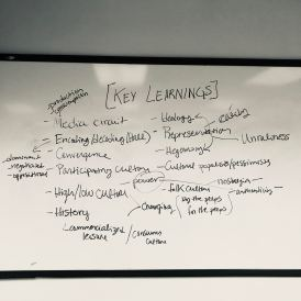 End of semester learning brainstorm
