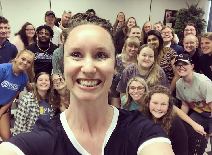 Media & Pop Culture Class Selfie